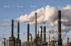 stock-photo-5387668-refinery-with-smoke-stacks
